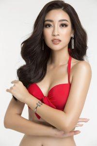 bỏng mắt với hình ảnh Đỗ Mỹ Linh trước thềm Miss World