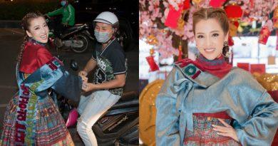 """Cận cảnh nhan sắc của """"hotgirl làng hài""""… khi đi xe máy đơn giản tới dự sự kiện"""