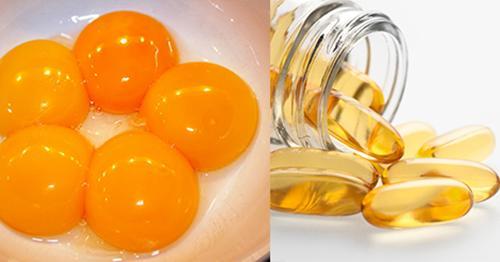 dưỡng da bằng trứng gà, cách dương da bằng trứng gà
