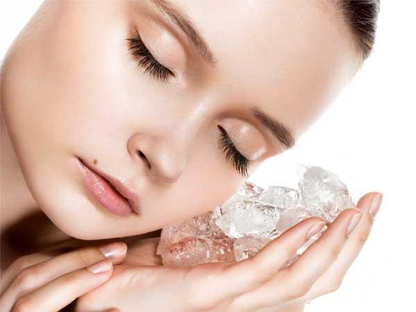 Phương pháp trị mụn tại nhà bằng nước đá