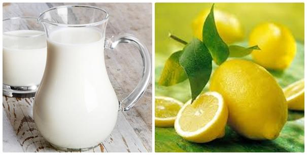 Dưỡng trắng da toàn thân tại nhà từ chanh và sữa