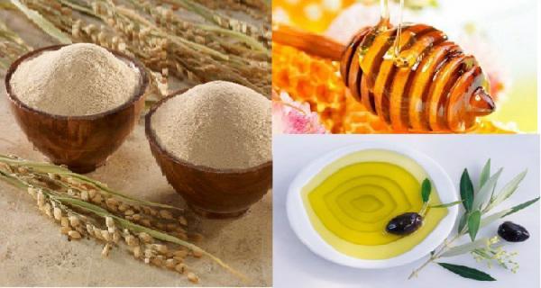 Trị nám tàn nhang hiệu quả bằng dầu ô liu kết hợp cám gạo