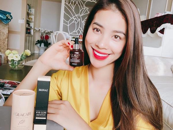 Bí quyết dưỡng trắng da của hoa hậu Phạm Hương