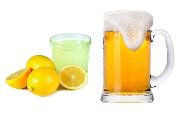 Cách làm trắng da mặt bằng bia kết hợp nước cốt chanh