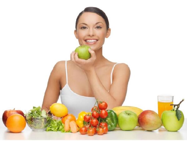 Bổ sung nhiều rau củ trong quá trình trị nám tàn nhang tại nhà