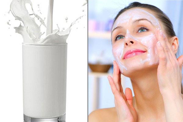 Dưỡng trắng toàn thân bằng sữa tươi không đường