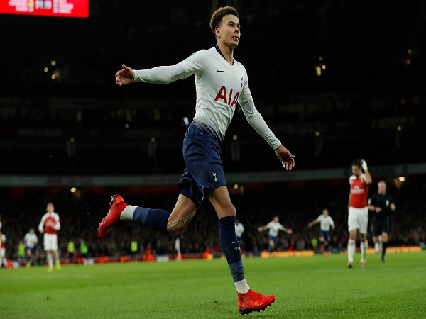 Arsenal 0-2 Tottenham