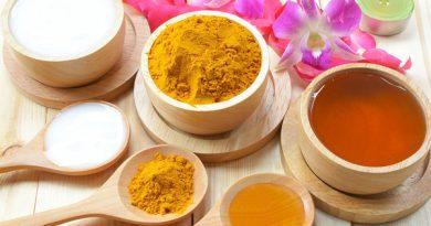 Mặt nạ mật ong + nghệ công thức dưỡng da, tái tạo da