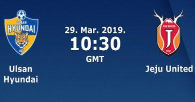 Dự đoán Ulsan Hyundai vs Jeju Utd, 17h30 ngày 29/03