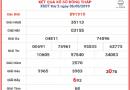 Dự đoán soi cầu  XS Đồng Tháp thứ 2 ngày 13/05/2019