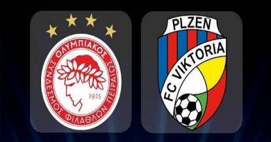 Nhận định Olympiakos vs Viktoria Plzen, 1h30 ngày 31/07
