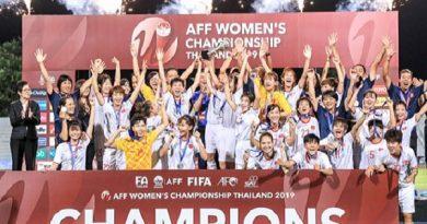 HLV Mai Đức Chung tự hào vì chiến thắng của tuyển nữ Việt Nam trước Thái Lan