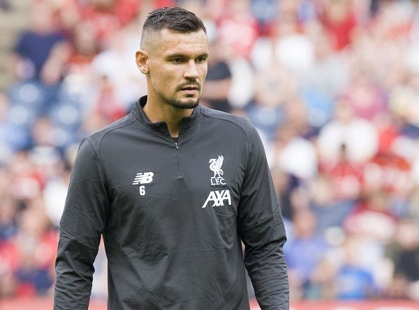 Liverpool sẵn sàng bán Lovren sang Ý