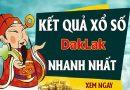 Soi cầu XS Daklak chính xác thứ 3 ngày 26/01/2021