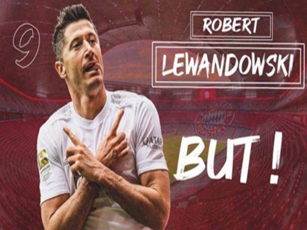 Lewandowski đang dẫn đầu cuộc đua chiếc giày vàng