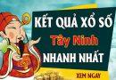 Soi cầu XS Tây Ninh chính xác thứ 5 ngày 24/09/2020