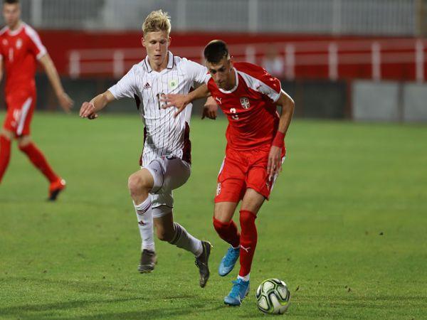 Nhận định soi kèo bóng đá U21 Estonia vs U21 Serbia, 20h00 ngày 13/10