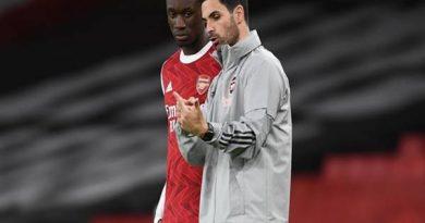 Tin trưa 30/10: HLV Mikel Arteta hài lòng với cầu thủ Pepe