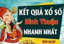 Soi cầu XS Bình Thuận chính xác thứ 5 ngày 29/10/2020