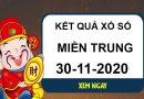 Soi cầu kết quả XSMT thứ 2 ngày 30/11/2020