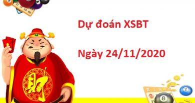 Dự đoán XSBT 24/11/2020