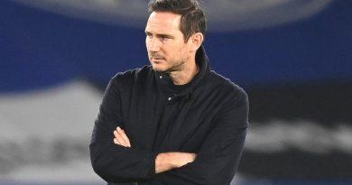 Thể thao 21/1: Lampard lâm nguy nếu Chelsea tiếp tục thi đấu thế này
