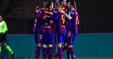 Tin thể thao 22/1: Barca chật vật đánh bại đội hạng 3