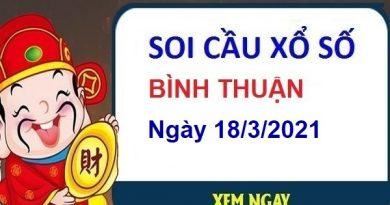 Soi cầu XSBT ngày 18/3/2021