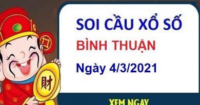 Soi cầu XSBT ngày 4/3/2021 – Soi cầu chốt số Bình Thuận thứ 5 hôm nay