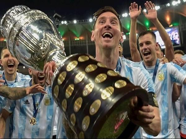 Tin bóng đá 21/7: Fabio Cannavaro ủng hộ Messi giành bóng Vàng