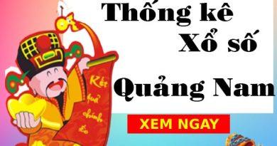 Thống kê xổ số Quảng Nam 13/7/2021