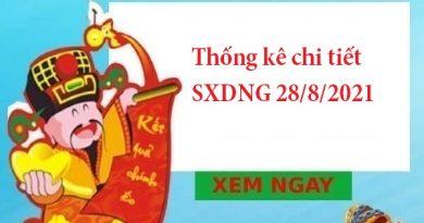 Thống kê chi tiết SXDNG 28/8/2021
