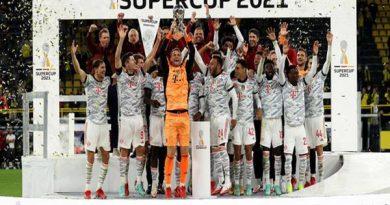 Bóng đá Quốc Tế ngày 18/8: Bayern Munich giành Siêu cúp Đức