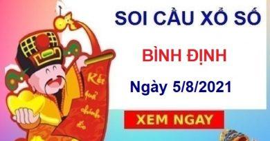 Soi cầu XSBDI ngày 5/8/2021