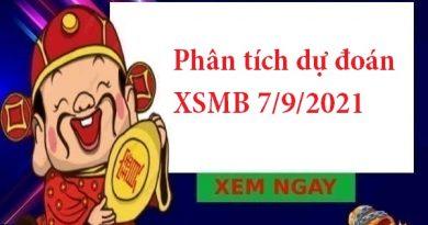 Phân tích dự đoán XSMB 7/9/2021
