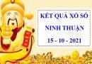 Soi cầu KQSX Ninh Thuận 15/10/2021 – Phân tích XSNT thứ 6